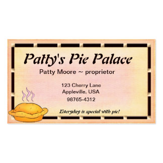 Pie ~ Bakery Business Card