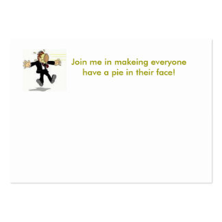 pie large business cards (Pack of 100)