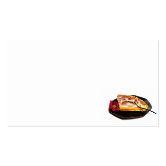 pie Double-Sided standard business cards (Pack of 100)