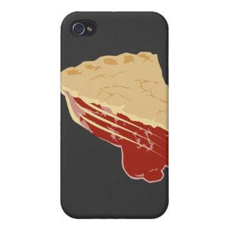 Pie - Cherry / Fruit Slice of Pie iPhone 4 Covers