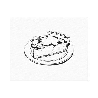 Pie Dessert Canvas Prints