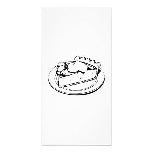 Pie Dessert Photo Cards