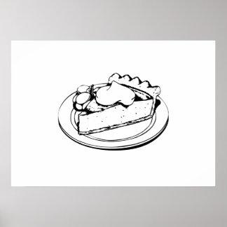 Pie Dessert Print