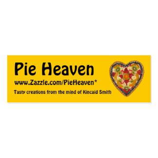 Pie Heaven Profile Card Business Card Template