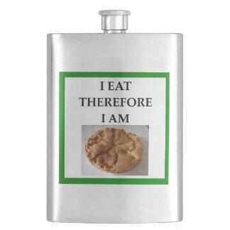 pie hip flask