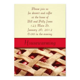 Pie Housewarming Invitation