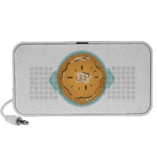 Pie in Pan Laptop Speakers