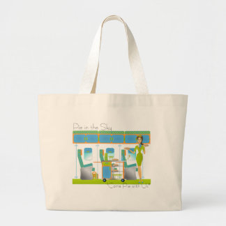 Pie in the Sky Airlines Tote Bags