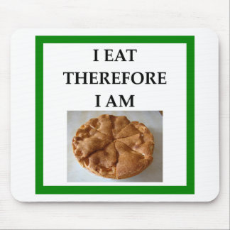 pie mouse pad