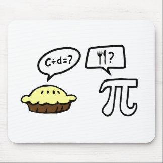 Pie & Pi Mouse Pad