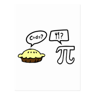 Pie & Pi Post Cards