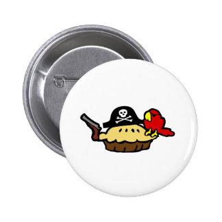 Pie Rate 6 Cm Round Badge
