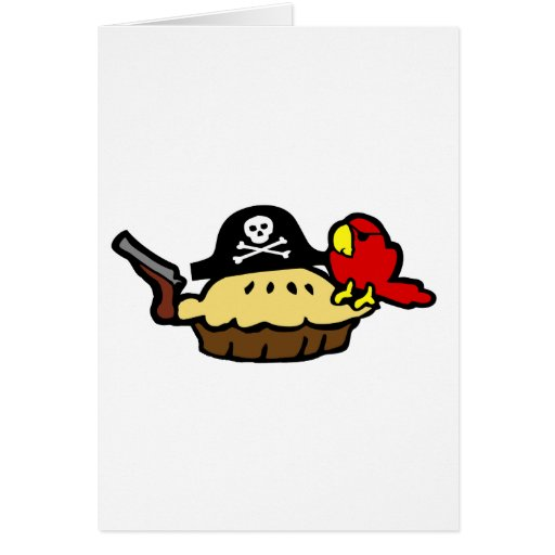 Pie Rate Greeting Cards