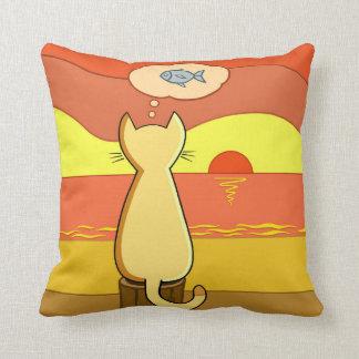 Pie's Fishy Idea Cushion