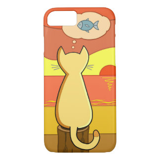 Pie's Fishy Idea iPhone 8/7 Case