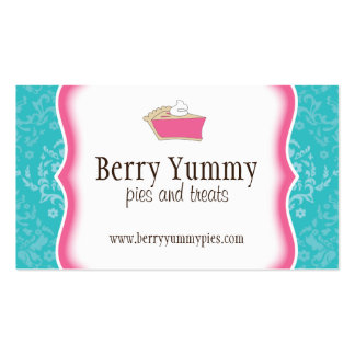 Pie Shoppe Business Card