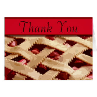 Pie Thank You Note Cards