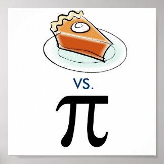 Pie vs. Pi Poster