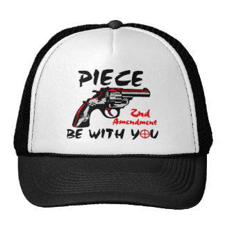 Piece Be With You! Cap