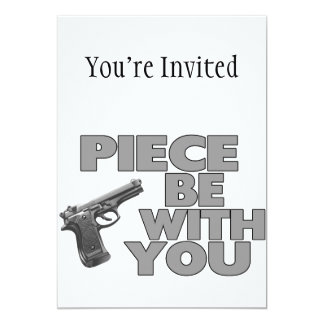 Piece Be With You Card