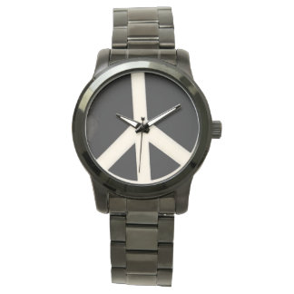 Piece Doodle Oversized Black Bracelet Wrist Watches