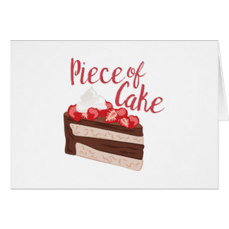 Piece Of Cake Card