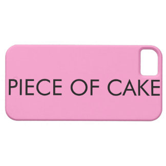 Piece Of Cake iPhone 5 Cases
