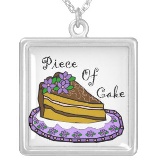 Piece of Cake Necklaces
