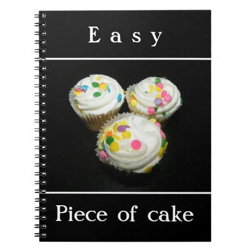 Piece of cake notebook