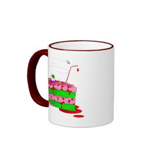 Piece Of Cake Ringer Mug