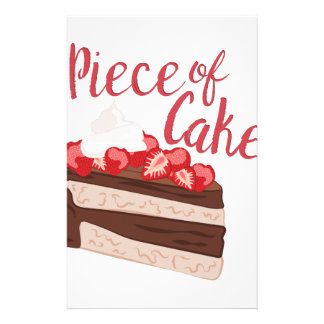 Piece Of Cake Stationery