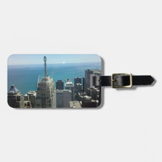 Piece of Chicago Luggage Tag