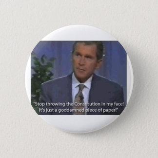 piece of paper 6 cm round badge