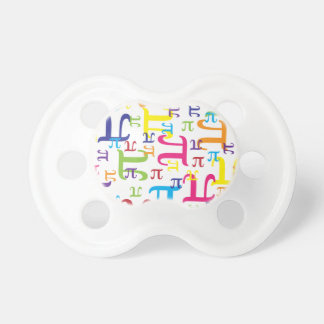 Piece of the Pi Baby Pacifiers