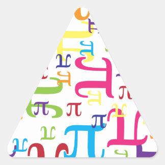 Piece of the Pi Triangle Sticker