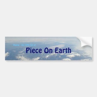 Piece On Earth Bumper Sticker