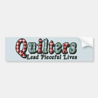 Pieceful Life Bumper Sticker