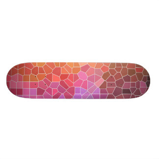 Pieces of Colour 21.6 Cm Old School Skateboard Deck