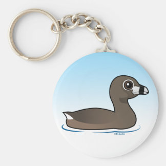 Pied-billed Grebe Key Ring
