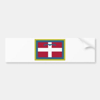 Piedmont (Italy) Flag Bumper Sticker