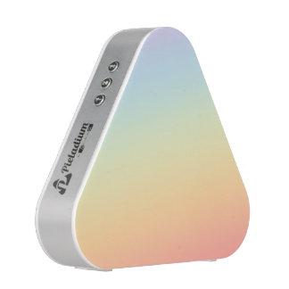 Pieladium loudspeaker gradient rainbow