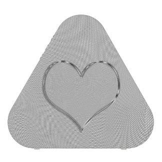 Pieladium Speaker SILVER SCREEN HEART CHROME EDGE