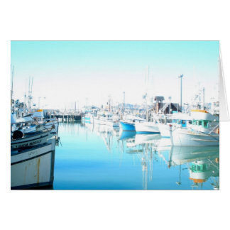 Pier 39 - Fisherman's Wharf Card