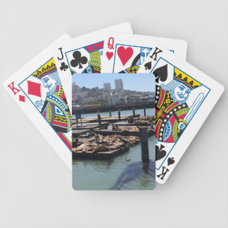 Pier 39 San Francisco California Bicycle Playing Cards