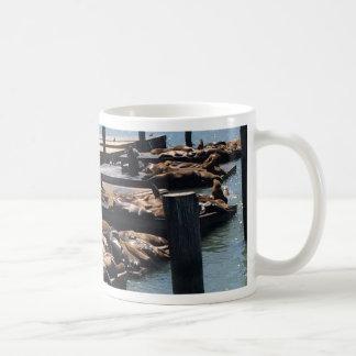 Pier 39 San Francisco California Coffee Mug