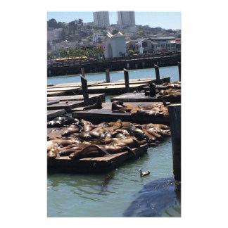 Pier 39 San Francisco California Stationery