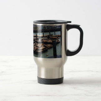 Pier 39 San Francisco California Travel Mug