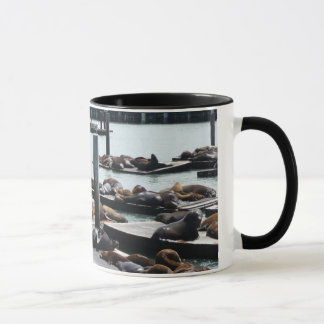 Pier 39 Sea Lions in San Francisco Mug