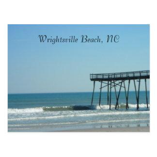 Pier and Beach Postcard