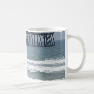 Pier At Imperial Beach Coffee Mug